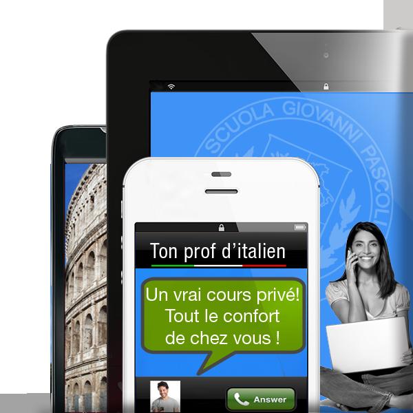 cours italien en ligne Internet