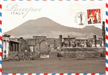 Voyage en Italie à Pompei