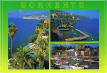 Voyage en Italie à Sorrento